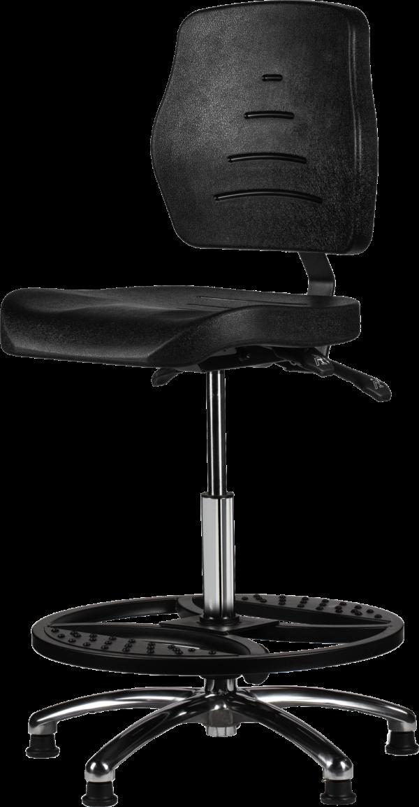 MAX 267 Rodachair bedrijfsstoel PUR bureaustoel werkstoel