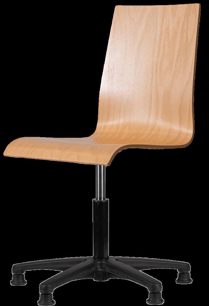 Rodachair HPL160 werkstoel hout