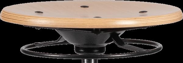 Rodachair verstelbare houten taboeret RH 200