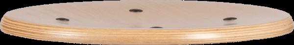 Rodachair verstelbare houten taboeret RH 267
