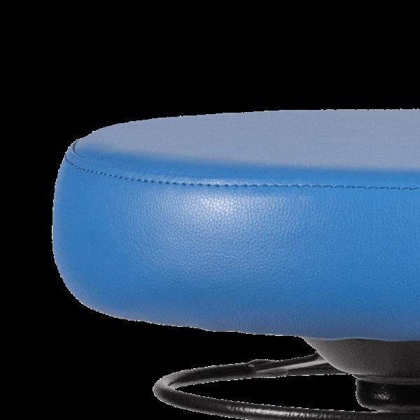 Rodachair verstelbare taboeret RS 267 kunstleder gestoffeerd