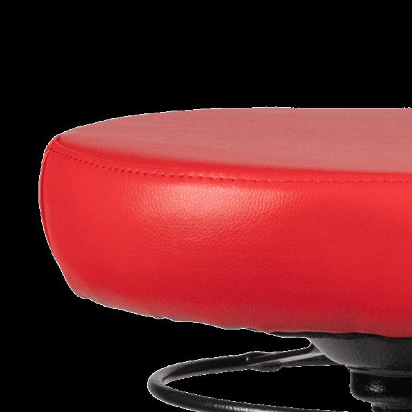 Rodachair verstelbare taboeret RS 200 kunstleder gestoffeerd