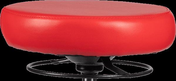 Rodachair verstelbare taboeret RS 160 kunstleder gestoffeerd