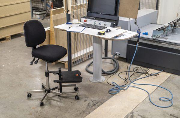 Rodachair bureaustoel Orchid LHD 267 verstelbare voetensteun